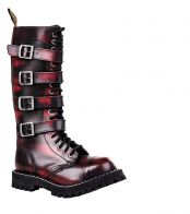 Steel Boots ROCK 4P Bordo